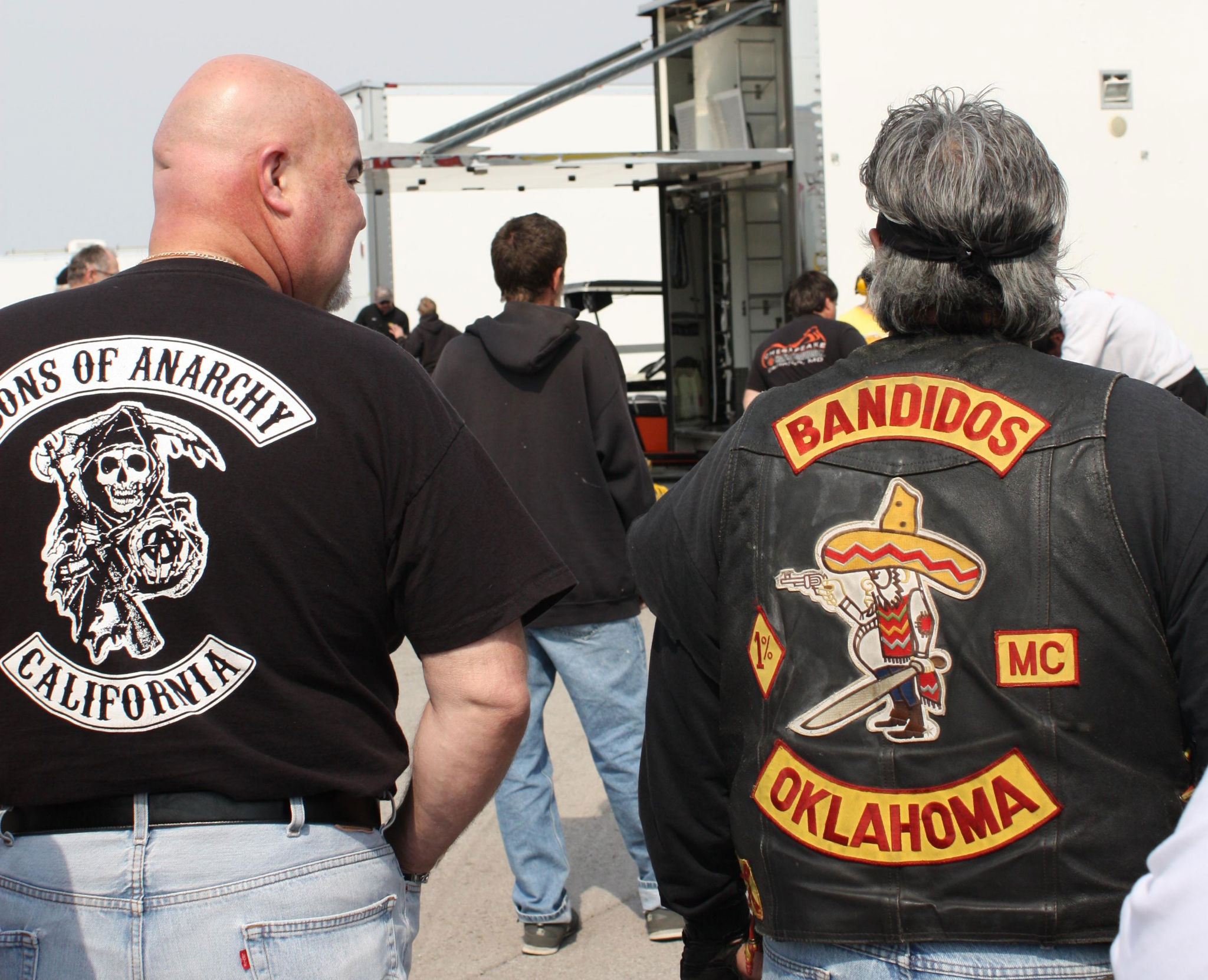 Mongols Outlaw Motorcycle Gang Patches