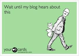 blogging to my fans
