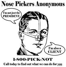 nose pickers anonymous