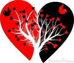 broken heart birds