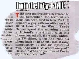 infidelty fail 911