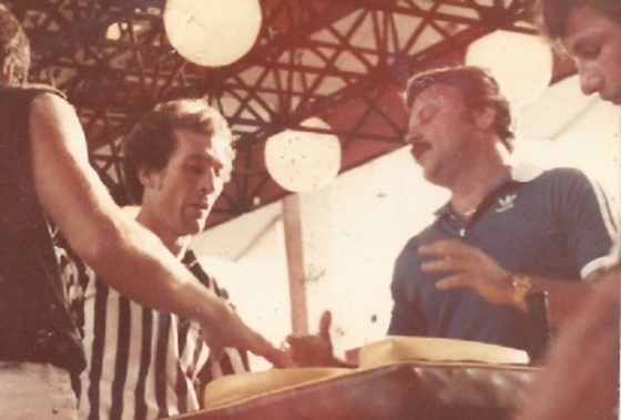 Dad was state champion arm wrestler