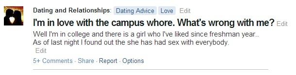 whore question