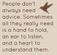listening with bird