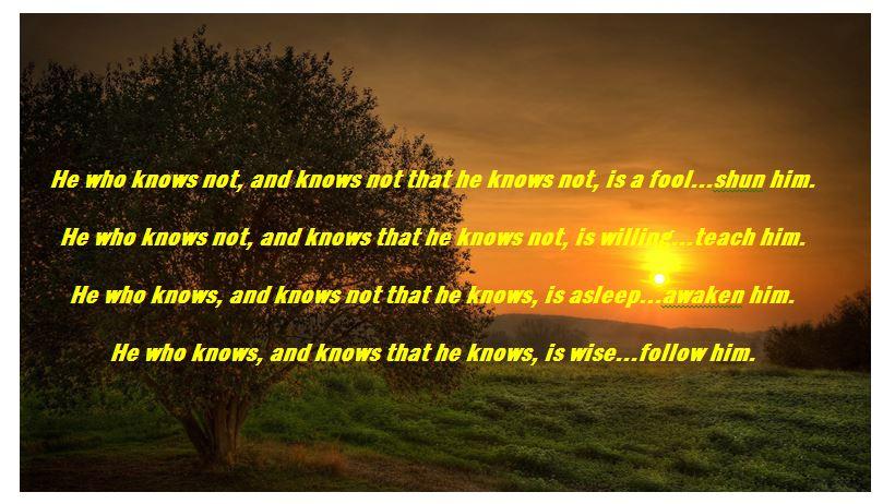 persian proverb