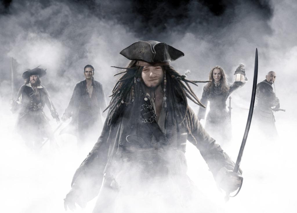 DJ as Captain Sparrow