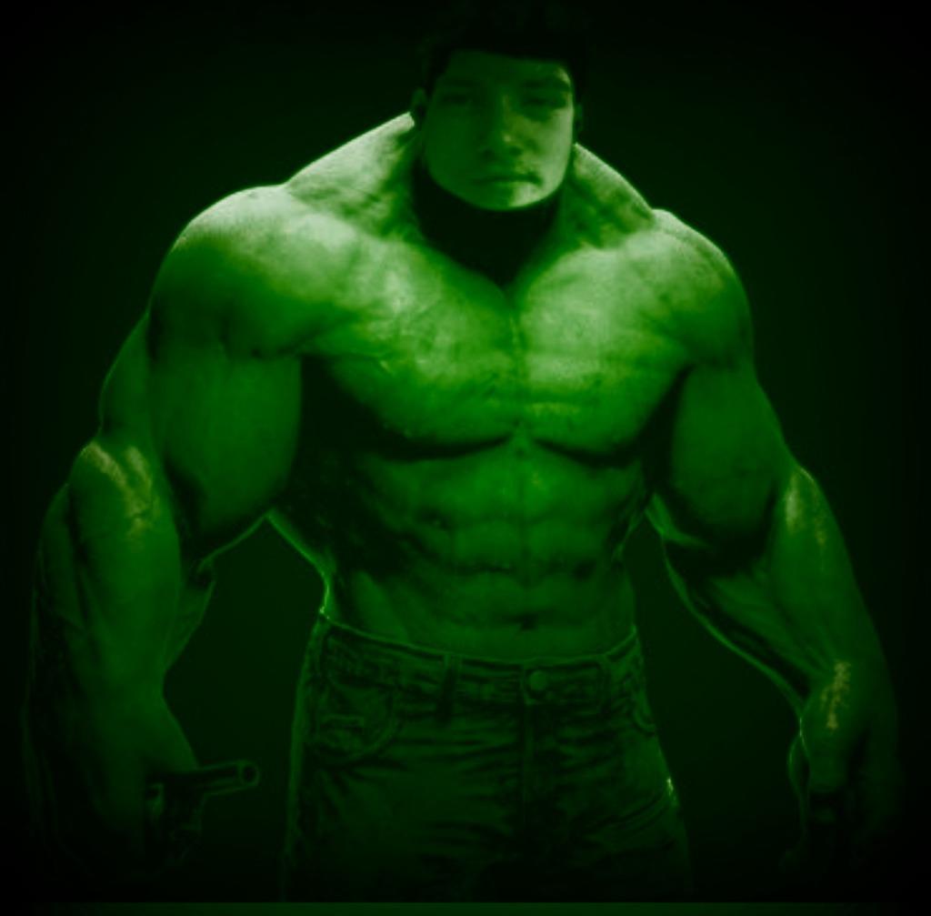 Dj is The Hulk